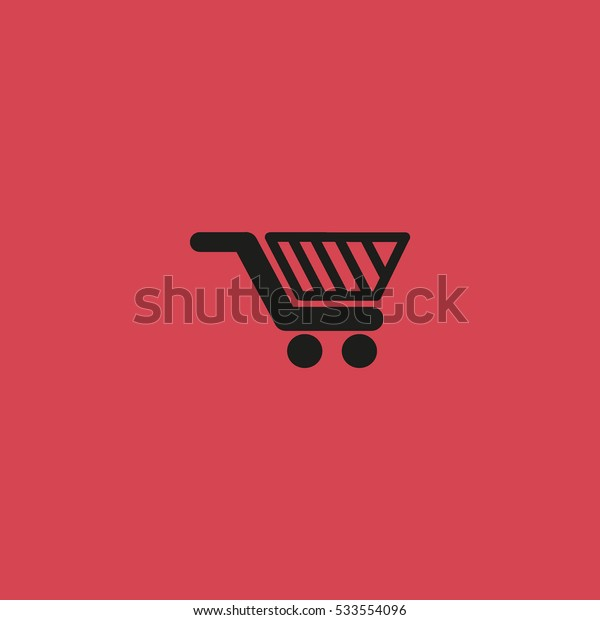 basket, trolley, vector