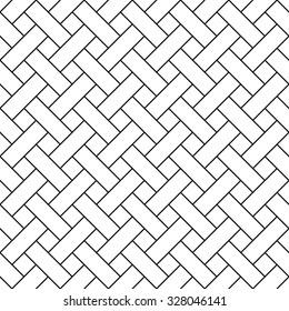 Basket weave pattern vector