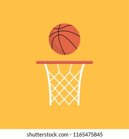 basketball cartoon vector. free space for text. wallpaper. background.