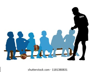 Basketball Coaching on the game