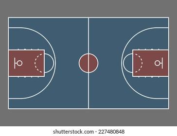 Basketball Court Texture Stock Vectors, Images & Vector ...