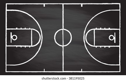 Basketball Court Graphic Images Stock Photos Vectors Shutterstock