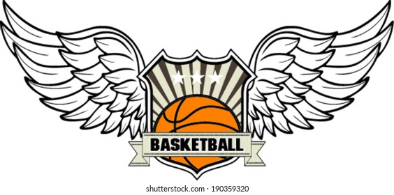 basketball design ,vector illustration