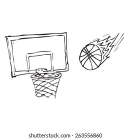 Basketball Doodle
