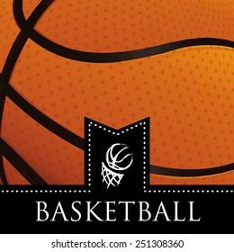 basketball emblem design, vector illustration eps10 graphic