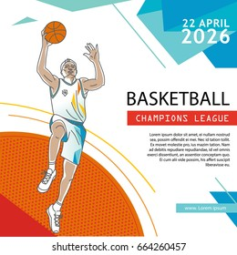 Basketball Flyer & Poster Cover Template