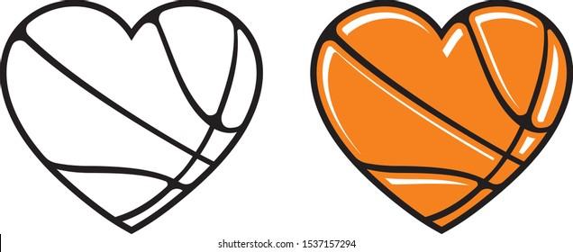 Basketball in heart, I love basketball