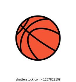 basketball icon vector illustration