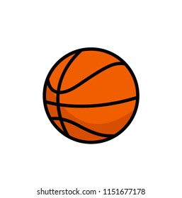 BasketBall Illustration Icon