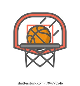 Basketball Net Grunge Stock Illustrations, Images & Vectors