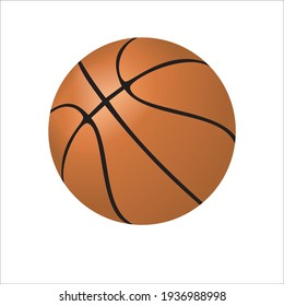 basketball with isolated background vector illustrator 10