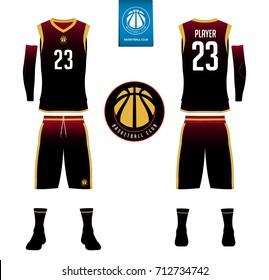 Similar Images, Stock Photos & Vectors of Basketball jersey, shorts