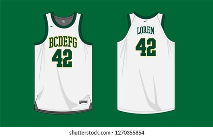 cheaper b339f 67acc Basketball Jersey Images, Stock Photos & Vectors | Shutterstock