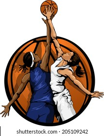 Girls Basketball Images Stock Photos Vectors Shutterstock