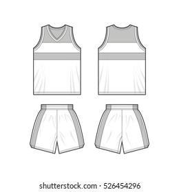 Basketball Kit Sport Template