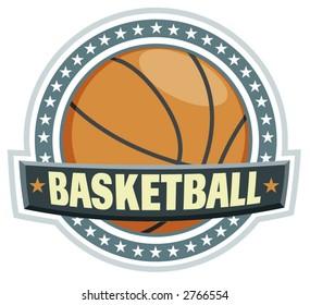 a basketball logo