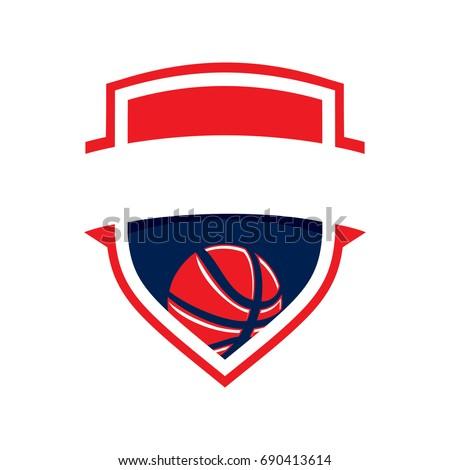 basketball logo のベクター画像素材 ロイヤリティフリー 690413614
