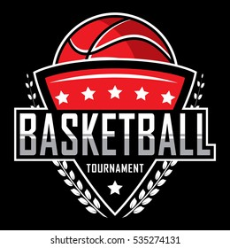 Basketball logo, America logo, Classic logo