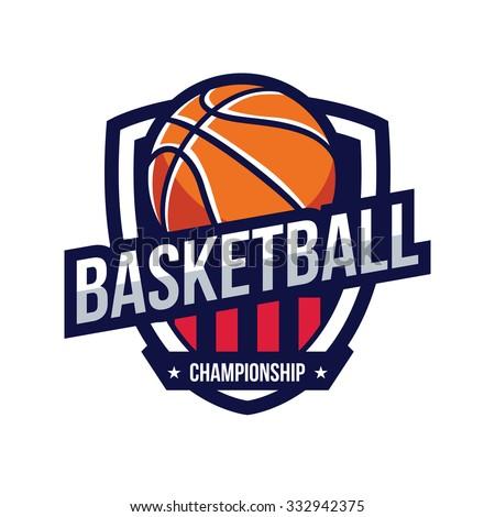 basketball logo american logo sport のベクター画像素材
