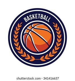 Basketball Logo Emblem
