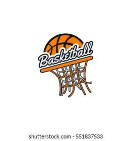 Basketball Logo Team Vector