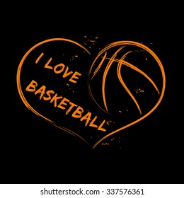I Love Basketball Images Stock Photos Vectors Shutterstock