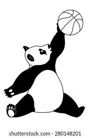 Basketball Panda