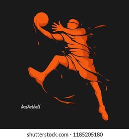 basketball player splash