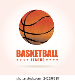 basketball poster design, vector illustration eps10 graphic