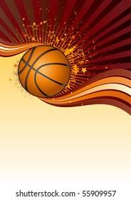basketball sport design element