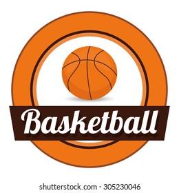 Basketball sport design, vector illustration eps 10.