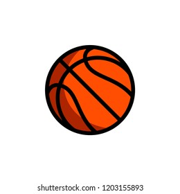 Basketball - Sport Icon Vector Template