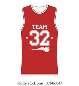 Basketball Sport T-shirt, Fashion Typography Design. Vector