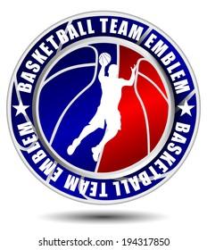 Basketball team emblem/logo