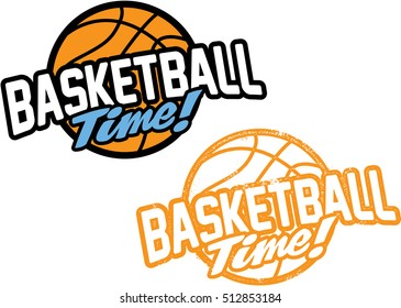 Basketball Time! Sports Stamp