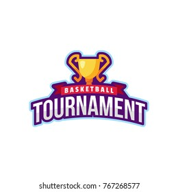 Basketball Tournament Logo Sport