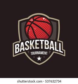 Basketball Tournament Logos, American Logo Sport