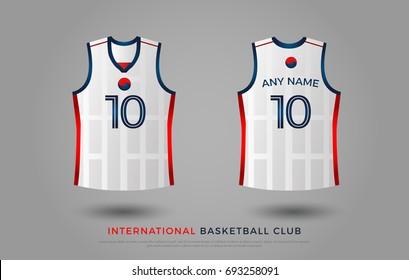 3a1b286315b3 basketball t-shirt design uniform set of kit. basketball jersey template.  blue and