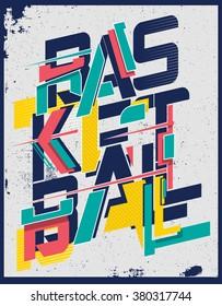 basketball t-shirt graphic