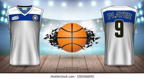 6ff971c4a1fe3a Basketball Uniform   Jersey