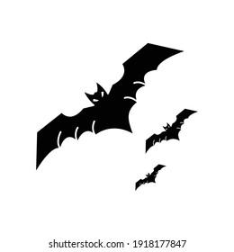 Bat Icon Vector Sign And Symbols.