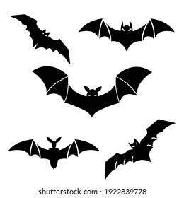 Bat Icon Vector Sign And Symbols On Trendy Design.