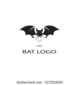 bat open wings flying concept elements icon