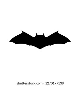Bat Silhouette. Vector Illustration.