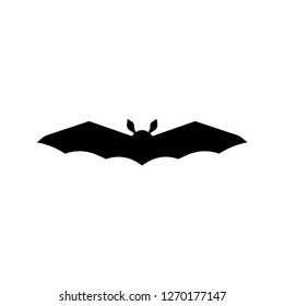 Bat Silhouette. Vector Illustration.