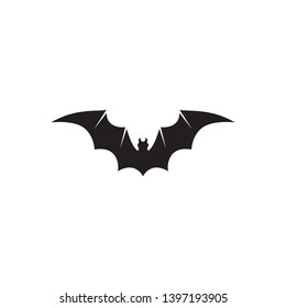 bat vector icon logo template illustration design