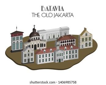 Batavia: The Old Jakarta during colonial era
