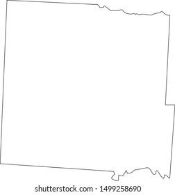 bates county map in missouri state