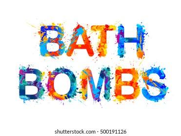 Bath bombs.