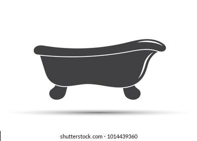 Bath silhouette icon
